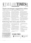Taylor Times: June 28, 2002