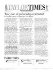 Taylor Times: July 26, 2002 by Taylor University