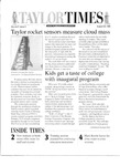 Taylor Times: August 20, 1999