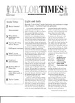 Taylor Times: August 22, 2003 by Taylor University