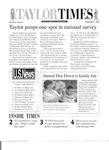 Taylor Times: September 1, 2000