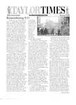 Taylor Times: September 6, 2002