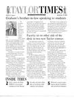 Taylor Times: September 15, 2000