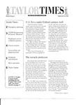 Taylor Times: September 26, 2003 by Taylor University