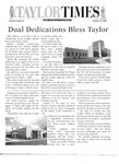 Taylor Times: October 13, 2004