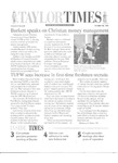 Taylor Times: October 16, 1998