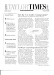 Taylor Times: October 24, 2003 by Taylor University