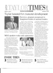 Taylor Times: October 29, 1999