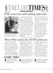 Taylor Times: November 10, 2000