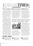 Taylor Times: November 12, 1999