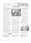 Taylor Times: November 13, 1998