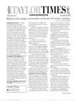 Taylor Times: November 22, 2002 by Taylor University