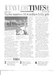 Taylor Times: November 25, 1998