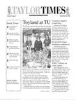 Taylor Times: December 20, 2002 by Taylor University