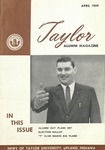 Taylor Alumni Magazine (April 1959)