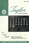 Taylor Alumni Magazine (April 1958)