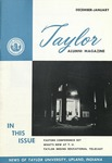 Taylor Alumni Magazine (December 1957/January 1958)