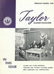 Taylor Alumni Magazine (February/March 1958)