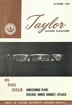 Taylor Alumni Magazine (October 1958)