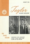Taylor Alumni Magazine (August 1958) by Taylor University
