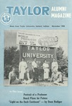 Taylor Alumni Magazine (November 1954) by Taylor University