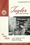 Taylor Alumni Magazine (October/November 1957)