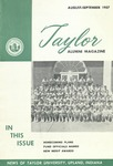 Taylor Alumni Magazine (August/September 1957) by Taylor University