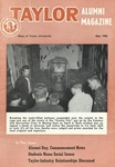 Taylor Alumni Magazine (May 1956) by Taylor University