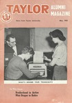 Taylor Alumni Magazine (May 1955) by Taylor University