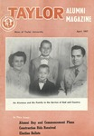 Taylor Alumni Magazine (April 1957) by Taylor University