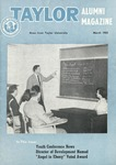 Taylor Alumni Magazine (March 1955)