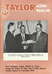 Taylor Alumni Magazine (January 1956) by Taylor University