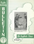 Taylor University Bulletin (June 1953) by Taylor University