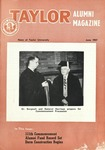 Taylor Alumni Magazine (June 1957) by Taylor University