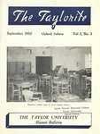 "Taylor University Alumni Bulletin ""The Taylorite"" (September 1950)"