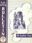 "Taylor University Alumni Bulletin ""The Taylorite"" (November 1951) by Taylor University"
