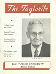 "Taylor University Alumni Bulletin ""The Taylorite"" (December 1948)"