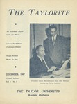 "Taylor University Alumni Bulletin ""The Taylorite"" (December 1947)"