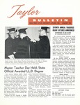 Taylor University Bulletin (January 1963) by Taylor University