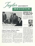 Taylor University Bulletin (May 1963) by Taylor University