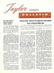 Taylor University Bulletin (July 1960)