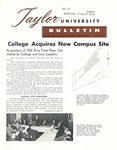 Taylor University Bulletin (July 1961) by Taylor University