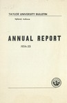 Taylor University Bulletin Annual Report 1954-1955 (September 1955) by Taylor University