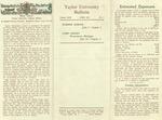 Taylor University Bulletin (April 1951)