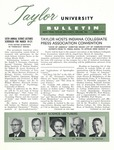 Taylor University Bulletin (March 1962) by Taylor University