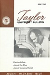 Taylor University Bulletin (June 1960) by Taylor University