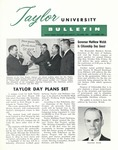 Taylor University Bulletin (October 1961) by Taylor University