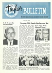 Taylor University Bulletin (January 1958) by Taylor University