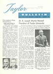 Taylor University Bulletin (January 1960)