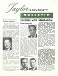 Taylor University Bulletin (January 1961) by Taylor University